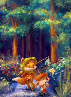 Foxes - Louis Wiyono