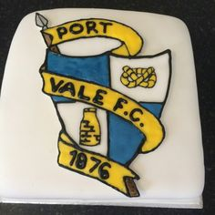 Port Vale FC birthday cake