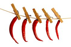 Drying chili on a string | par Peter Bros Nissen