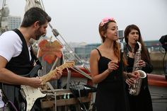 Agosto na Ría Marqués de Vizhoja, concierto de The Soul Breakers #festival #riadevigo #marquesdevizhoja