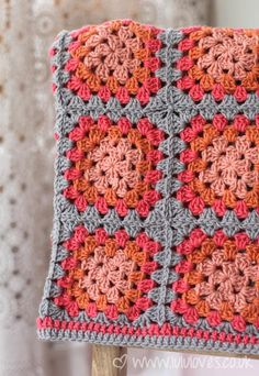 Crochet - Granny Square Snood-Scarf