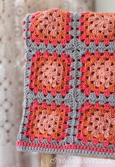 Crochet - Granny Square Snood-Scarf