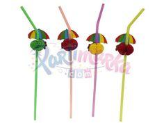 Şemsiyeli Doğum Günü Partisi Pipeti
