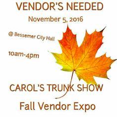 Vendor's Needed