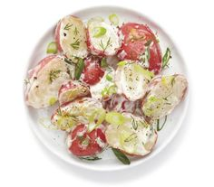 10 Make-Ahead Summer Side Dishes  Creamy Dill Potato Salad