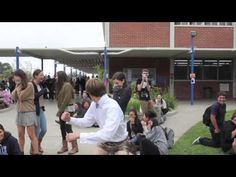 Guy's Funny Way Of Asking Girl To The #Prom - #funny
