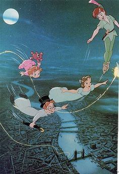I just read about the actual 'lost boys' who inspired the peter pan story, and it's so terribly depressing the way their lives turned out.