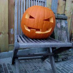 halloween pompoen uithollen