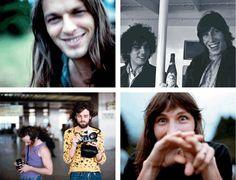 Pink Floyd--young David Gilmour <3