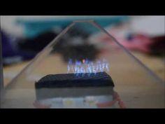 DIY 3d hologram projector using CD case & smartphone - YouTube