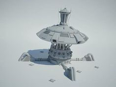 futuristic military building - Google Search