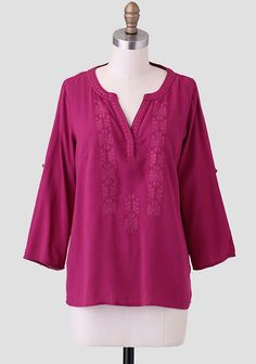 Dream Sequence Embellished Blouse at #Ruche @Mimi ♥♥