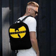 TikToker backpack tiktoker apparel, new custom tiktok clothing offered on my website listed below! For the best Tiktok meme merch on pintrest! please pin