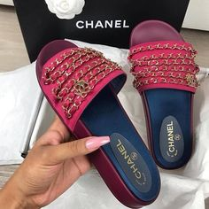 e81ace38f81af6 ... Sandal Slipper Shoes from Trendsetter. Lauren Westhead · Fashion ·  Brand New Red Chanel Mules Very Authentic