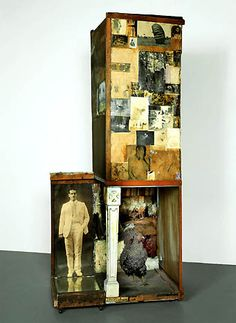 Man With White Shoes-Rauschenberg's Combines inspire me want to rummage around your garage and make art.