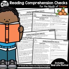 As we get ready to head on into November, I wanted to create some packets that make learning core skills FUN, hands-on and super effective. 2nd Grade Ela, First Grade Math, Graphic Organizer For Reading, 2nd Grade Reading Comprehension, Text Evidence, School Fun, School Days, Reading Levels, Learning Resources