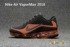 new products c8029 111da Nike Air Vapor MAX 2018 KPU Running Men Carbon Grey Orange 40-47