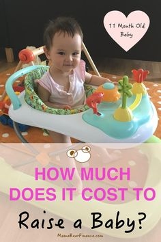 Cost of Raising a Baby Month) - Mama Bear Finance, free baby supplies, Baby Cost, 11 Month Old Baby, Baby Care Tips, Baby Eating, Disposable Diapers, Newborn Care, Baby Hacks, Baby Bottles, Raising Kids