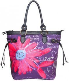 Desigual női táska | Desigual Webáruház | Neszeszerek, oldaltáskák Webáruház | Lifestyleshop.hu Tote Bag, Style, Fashion, Hands, Swag, Moda, Fashion Styles, Tote Bags, Totes