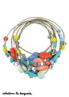 Ces bracelets sont magiques, savez-vous pourquoi ? #ladroguerie #bijoux #bracelet