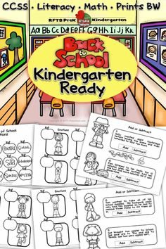 ENTER TO WIN Stop by Enter to WIN my newest product. BACK TO SCHOOL KINDERGARTEN READY.  NO PREP Print-n-Go Activities. 5 lucky winners in time for back to school! http://www.teachersnotebook.com/deals/giveaways/5007