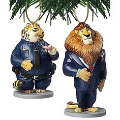"""#Christmas Extra guide Disney Zootopia """"Mayor Lionheart & Benjamin Clawhauser"""" 2 pc Ornament Set for Christmas Gifts Idea Promotion . When you complete a hard set of all you need to buy this Christmas . Planning what exactly you are going to purchase, deciding simply how much you are going to expend, in addition to working out the o..."""