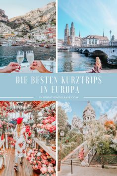 The best weekend trips, short trips and travel tips for Europe 2020 - Week End En Europe, Travel Tips For Europe, Backpacking Europe, Europe Destinations, Best Weekend Trips, Reisen In Europa, Voyage Europe, Road Trip Hacks, Short Trip