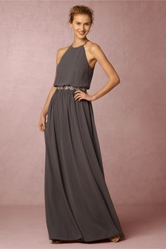 fall maids hue | Alana Dress from BHLDN