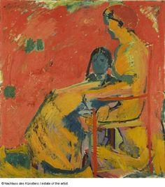 Cuno Amiet    Mutter und Kind, 1911/1913 Öl auf Leinwand 98 x 91.5 cm