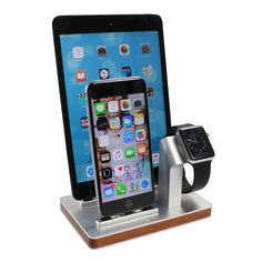 PREMIUM ONE W3 TRIPLE Dock & Charging stand for Apple Watch, iPhone an – Enblue
