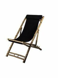 Broste / Zahradní lehátko Bamboo Summer Of Love, Summer Time, Outdoor Chairs, Outdoor Furniture, Outdoor Decor, Black Garden, Color Harmony, Lake Life, Folding Chair