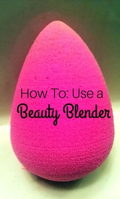 We've all heard about the Beauty Blender, now let us show you how to use it!