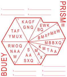 Puzzle about the NSA's PRISM surveillance program. Which nine internet companies which are involved in PRISM can be found in this puzzle? Design: Ruben Pater.