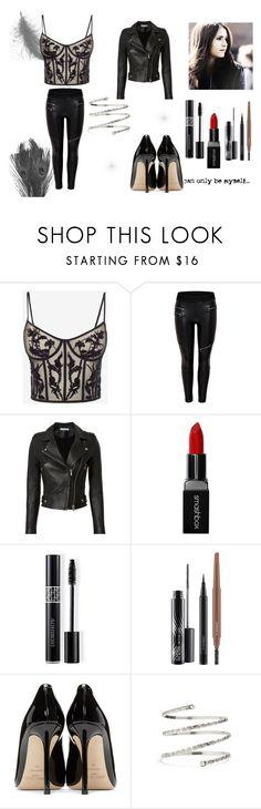 """N°57"" by carmis-leon on Polyvore featuring moda, Alexander McQueen, IRO, Smashbox, Christian Dior, MAC Cosmetics, Jimmy Choo y Venus"