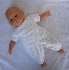Pyjama pour poupon de 36 cm - MCL Poupées