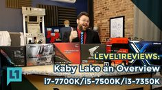 """Kaby Lake: i7-7700k i5-7600k i3-7350k and Z270 Everything You Need To Know This kicks off our Kaby Lake coverage. This brain dump is for enthusiasts that have a little experience or that have been reading about """"Kaby Lake"""" chips and thinking about Z270. What's the back story? We've got a whole 18 months with these boards too! This won't be the last time you see them. We've already got projects lined up for many of these boards. Stay tuned! Want to know all about the Kaby Lake CPUS that work…"""