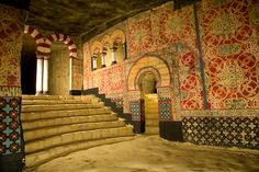 Jesuit Caves in Europe (Jezuïetenberg) filled with Egyptian and Islamic Art