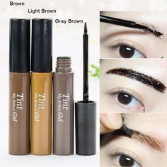 New arrival !!! Peel off Eyebrow Enhancer Tint Gel Tattoo Makeup Eyebrow Cream Dye Color Natural 3 Days Long Lasting