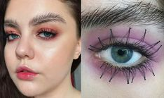 Eye Makeup Trends Reverse Lashes And Feather Eyebrows Quirky Eye Makeup Trends That Eye Makeup Trends 2017 Eye Makeup Trends You Need To Try This Spring Richard Magazine. Eye Makeup Trends Reverse Lashes And Feather Eyebrows Quirky Ey. Applying Eye Makeup, Cat Eye Makeup, Kiss Makeup, Eyebrow Makeup, Eyebrow Fails, Eyebrow Trends, Makeup Trends 2017, Beauty Trends, Beauty Tips
