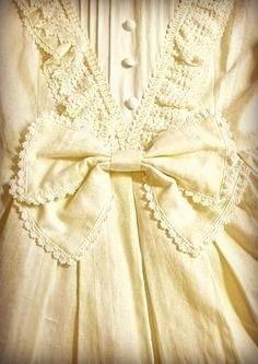 Vintage Fashion ~ Soft Yellow
