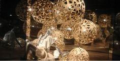 David Trubridge - Coral bamboo natural bamboo in situ