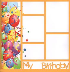 Quick and simple!  Happy Birthday layout that is almost done!  Add pics, embellies, title--you're done!