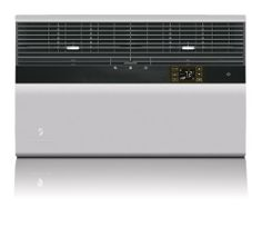 """Friedrich ES15N33 14500 btu - 230 volt - 9.8 EER Kuhl+ series room air conditioner with electric heat by Friedrich. $1108.00. Group with other 2012 Kühl units for zone or central air-like control. 14500 Btu cooling and 10700 heating commercial grade 230/208v Kühl+ room air conditioner with electric heat installs in a window or through walls up to 7 3/8"""" deep and conditions rooms up to approximately 700 sq ft.. 7-day programmable schedule with up to 4 setting changes..."""