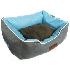 Dog's Life Premium Country Waterproof Bed Grey Pet Beds, Dog Bed, Country Bedding, Wash N Dry, Grey Bedding, How To Make Bed, Dog Life, Snug, Baby Car Seats