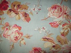 antique french fabric.