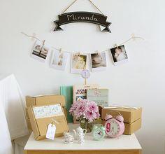 """La chica de la casa de caramelo: El primer cumpleaños de Miranda: una """"tea party"""""""