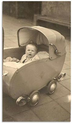 One of the families I lived (1965) with had a beautiful, rosy cheeked little boy, Clausje, and his buggy went in the car with us.  (MBG - 12/20/13)