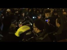 POLICE CLASHING WITH CITIZENS IN CHICAGO