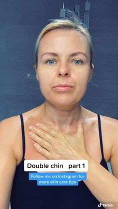 Skin Tips, Skin Care Tips, Face Yoga Exercises, Double Menton, Facial Yoga, Beauty Life Hacks Videos, Beauty Tips For Glowing Skin, Face Massage, Face Contouring