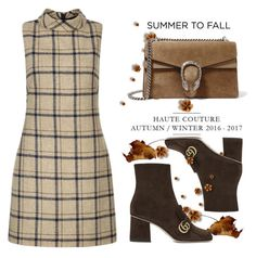 Summer to Fall by conch-lady on Polyvore featuring polyvore, fashion, style, Hobbs, Gucci, clothing and summertofall